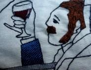 George Sandeman, com bigode aparado
