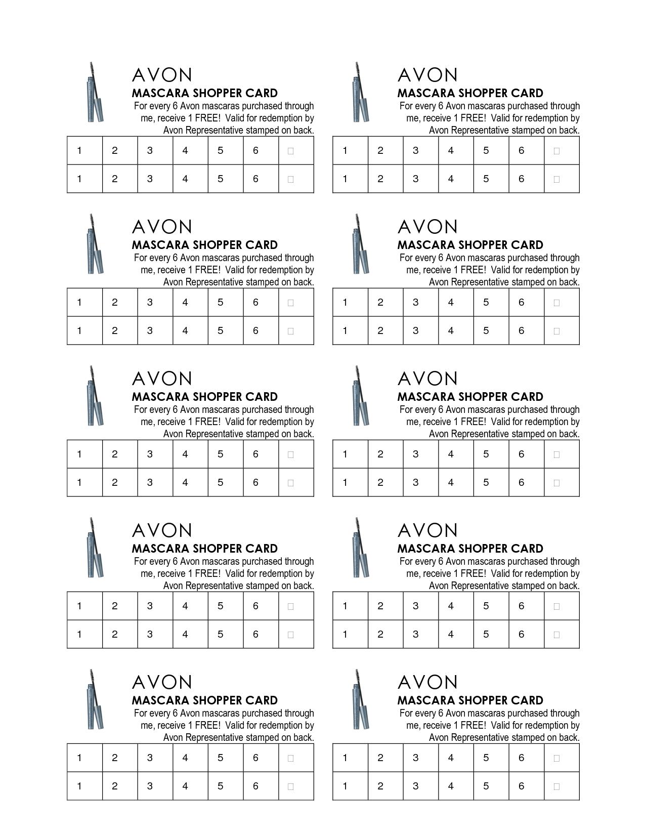 Avon Flyers Amp Charts