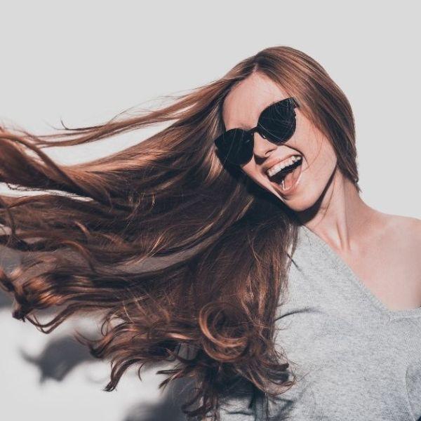 Tipps für seidig glänzende Haare