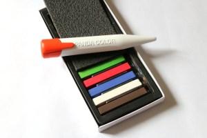 stylo et bâtonnets chocolats