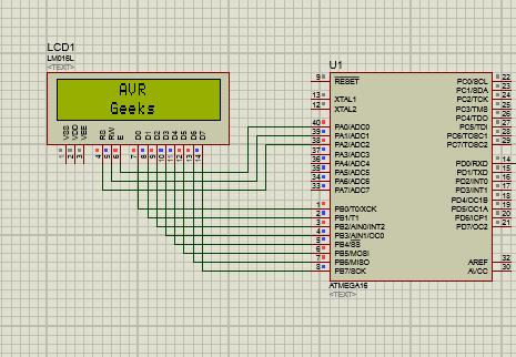 Print Anywhere in 16x2 LCD-LCD tutorial series-AVR Geeks
