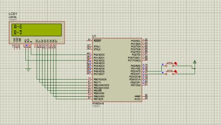 EVM using AVR