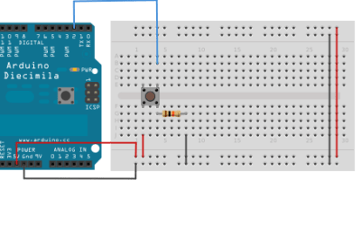 Push Button Interfacing with Arduino
