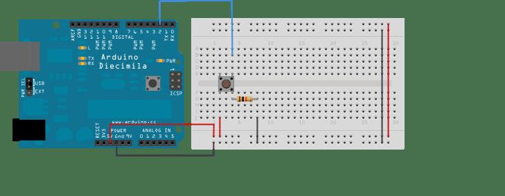 Push Button Interfacing with Arduino