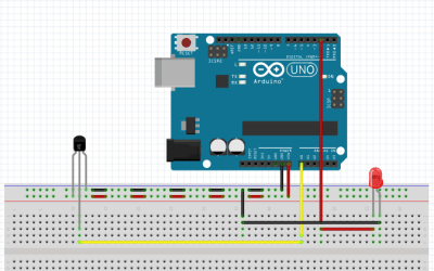Interfacing of Temperature Sensor with Arduino