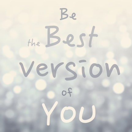 quote saying 'Be the best version of you' to suggest outcome of personal style coach sessions