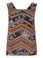 sleeveless vest top