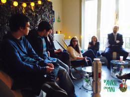 Lina Manousogiannaki parle de son travail et répond aux questions des curieux!