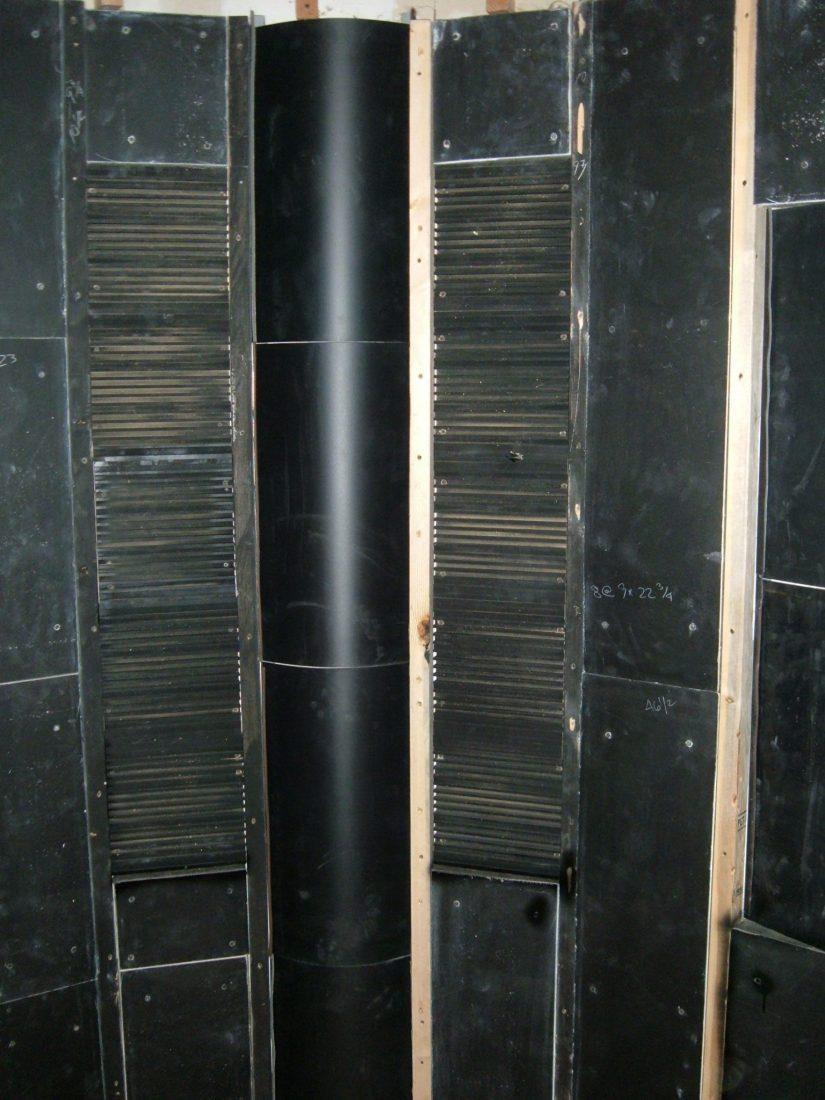 Corner FRP diffusers