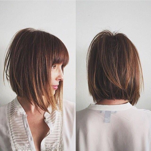 korta frisyrer med volym