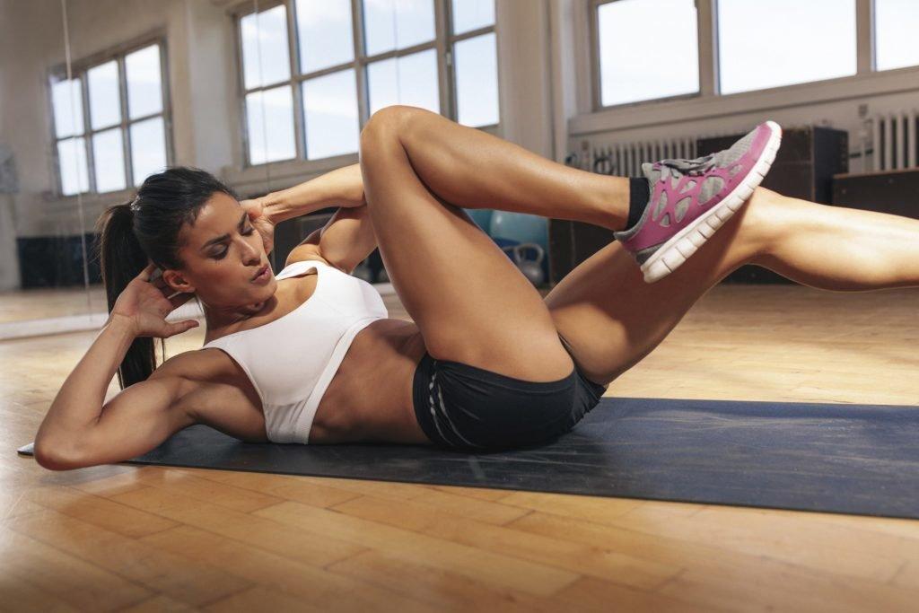 Упражнения для похудения боков в домашних условиях