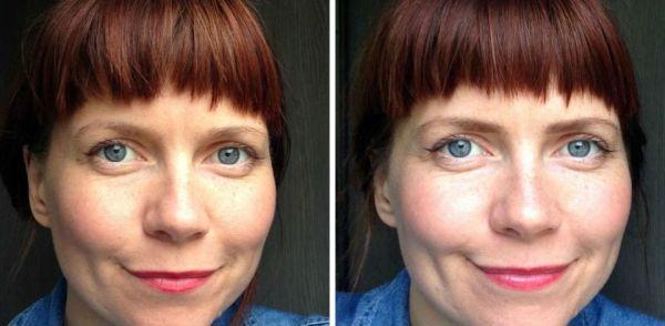Натуральное окрашивание бровей хной — Фото до и после