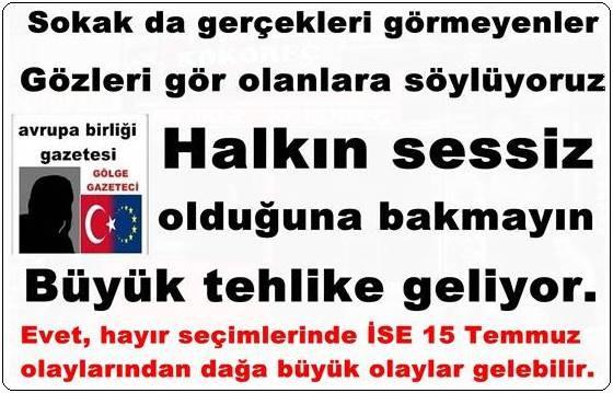 Evet, hayır referandum seçimlerine Türkiye hazır mı