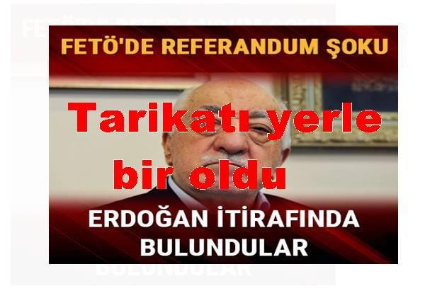 Referandum sonucu FETÖ
