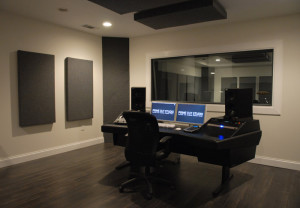 GIK Acoustics in Control room