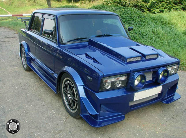 Tuning VAZ 2105 do it yourself