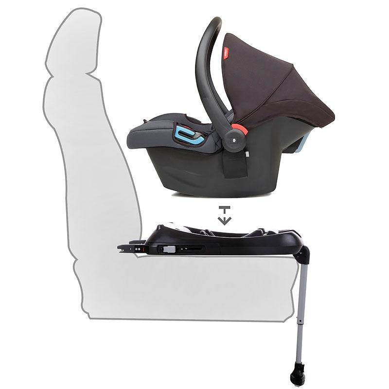 Conexión ISOFIX coche asiento para niños soporte soporte fijación botón soporte