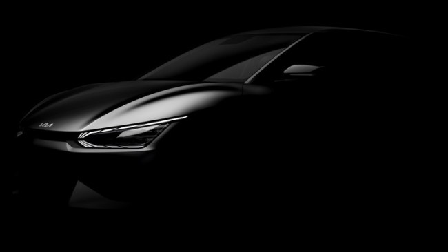 Kia показала модель EV6 на официальных тизерах (фото, видео) 1