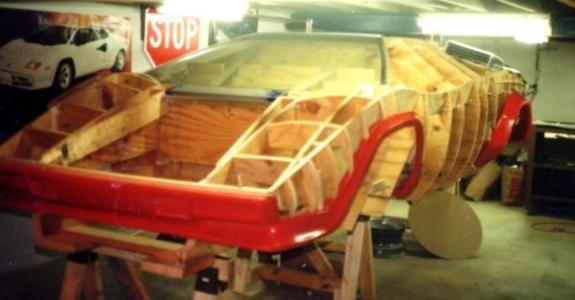 Автолюбитель построил Lamborghini в подвале своего дома 2