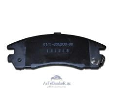Задние тормозные колодки под дисковые тормоза AST