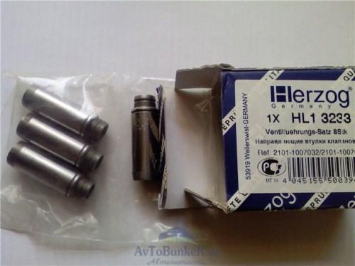 Направляющие клапанов 16 кл HERZOG , комплект 16 шт