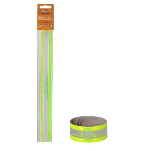 Браслет на руку, светоотражающий, 3* 30см, зеленый ARW-B-05