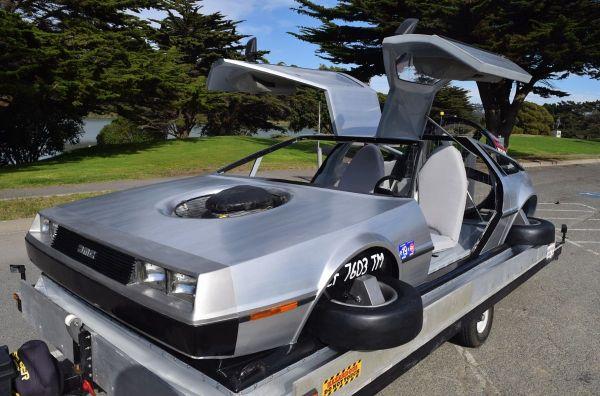 На продажу выставили DeLorean на воздушной подушке (ФОТО ...