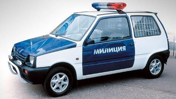 Мал, да удал: мини автомобили, надевшие униформу (фото ...