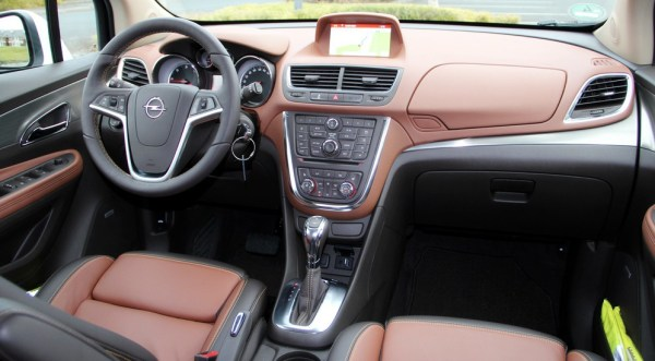 Успешные испытания дизельного Opel Mokka фото и видео.