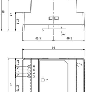 36W12-24V(3.А - 1,5А)DIN