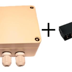 Комплект: Сдвоенный датчик температуры наружного воздуха для котлов Protherm (art. 0020040797, 0020277426) и Vaillant (art. VRC 693) х 2 + разъём для подключения