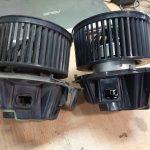 Renault Duster замена вентилятора отопителя салона.