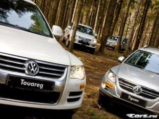 Volkswagen выпустит сразу шесть внедорожников