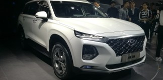 Кроссовер Hyundai Santa Fe растянули до пяти метров