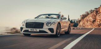 Новый кабриолет Bentley Continental GTC получил «твидовую» крышу