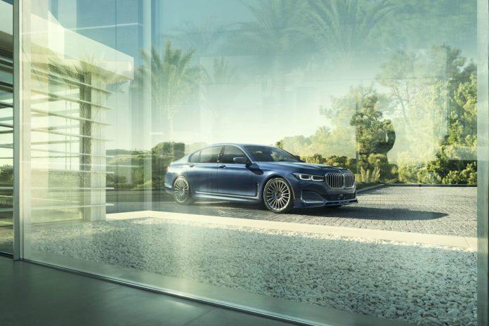 Alpina обновила «заряженный» седан на базе «семерки» BMW