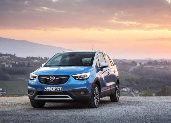 Opel Crossland X 2017 – цена, характеристики, фото ...