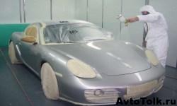 Покраска автомобиля и всё, что с этим связано