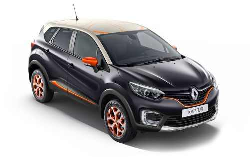 Для Каптюра французы предлагают стильные опции от Atelier Renault.