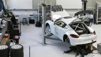 Спорткупе Porsche Cayman GT4 Clubsport.