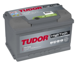TUDOR High Tech 72Ah 720A R+ TA722