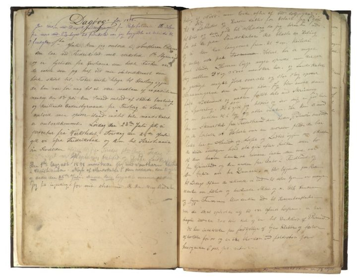 Hans Johan Johnsens dagbok 1898