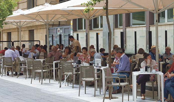Terraza Gran Café Cáceres