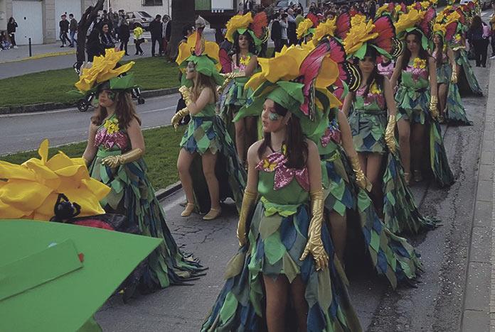 El desfile de Carnaval Malpartida de Plasencia