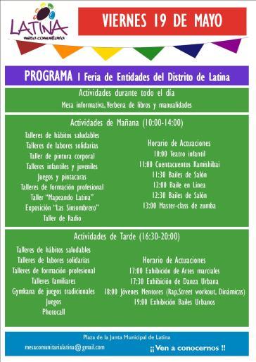 programa Feria de Entidades Latina