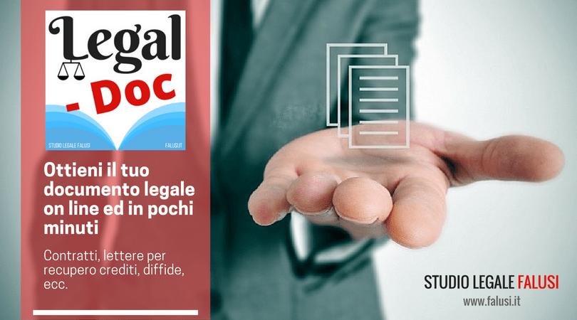 documenti legali