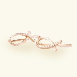 Freedom Rose Gold Earring Pair