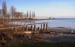 Bucht vor Immenstaad im Herbst