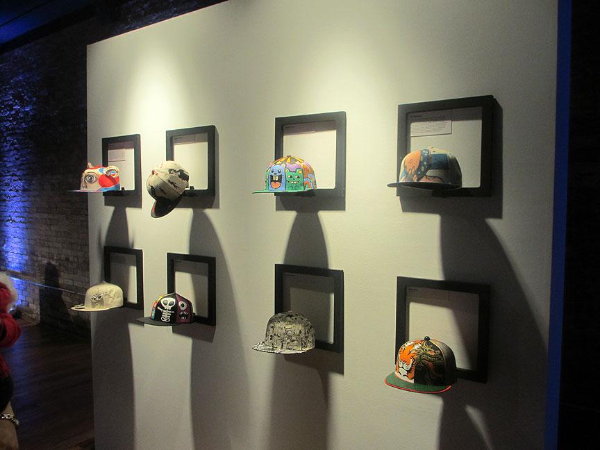 Hat display cap display display