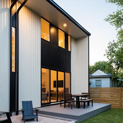 e series gliding patio door